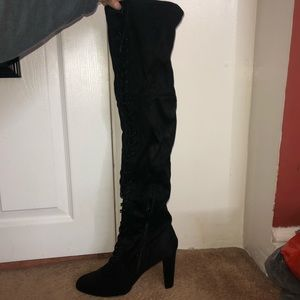 Brand New Thigh High Black Boots